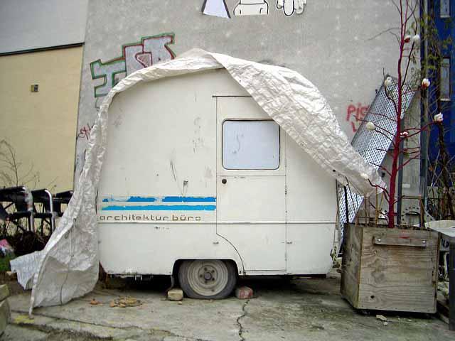 small caravan cover