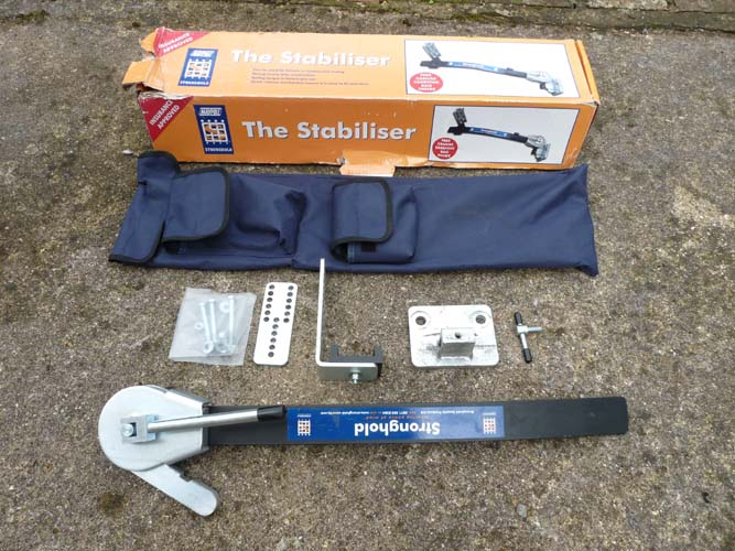 Stronghold caravan stabiliser fitting instructions