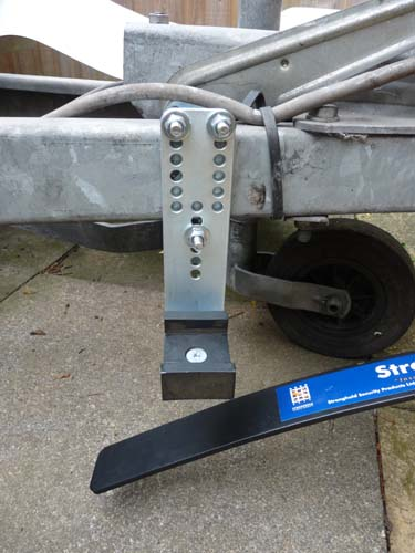 Caravan stabiliser fitting instructions